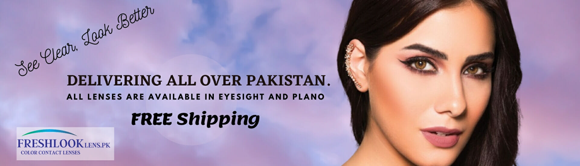 Buy Freshlook One Day, ColrBlends and Colors Collection Contact lenses in Pakistan @ Freshlooklens.pk