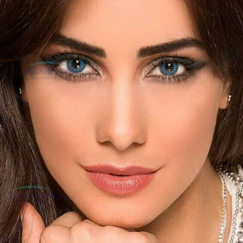 Buy Freshlook Brilliant Blue ColorBlends Collection Contact lenses in Pakistan @ Freshlooklens.pk
