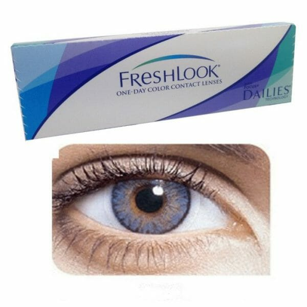 Buy Freshlook Blue One Day Collection Contact lenses in Pakistan @ Freshlooklens.pk   All Collections of FreshLook are available.