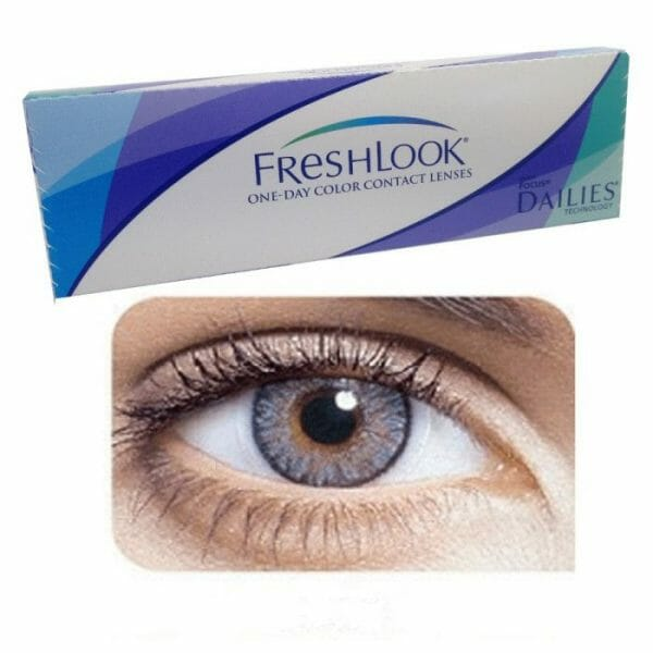 Buy Freshlook Gray One Day Collection Contact lenses in Pakistan @ Freshlooklens.pk | All Collections of FreshLook are available.
