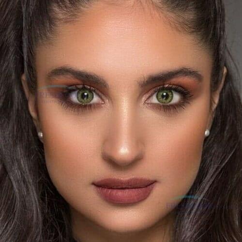Buy Freshlook Gemstone Green ColorBlends Collection Contact lenses in Pakistan @ Freshlooklens.pk